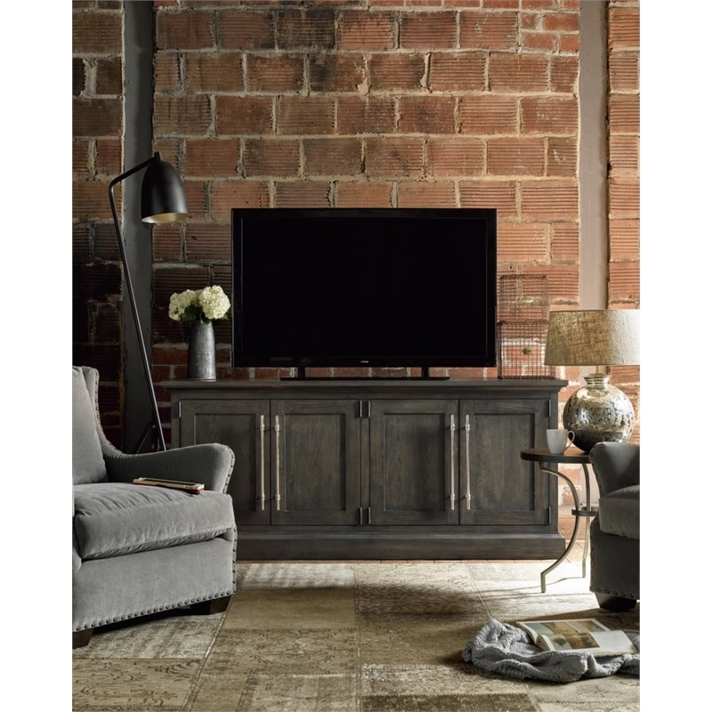 Amazing Best Emerson TV Stands With Universal Furniture Curated Emerson Tv Stand In Graphite  (Image 1 of 50)