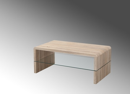 Amazing Best Glass Oak Coffee Tables Inside Solid Glass Coffee Tables Jerichomafjarproject (Image 1 of 50)