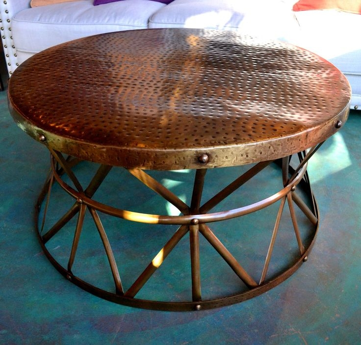 Amazing Best Hammered Silver Coffee Tables For Best 20 Copper Coffee Table Ideas On Pinterest Copper Table (Image 1 of 50)