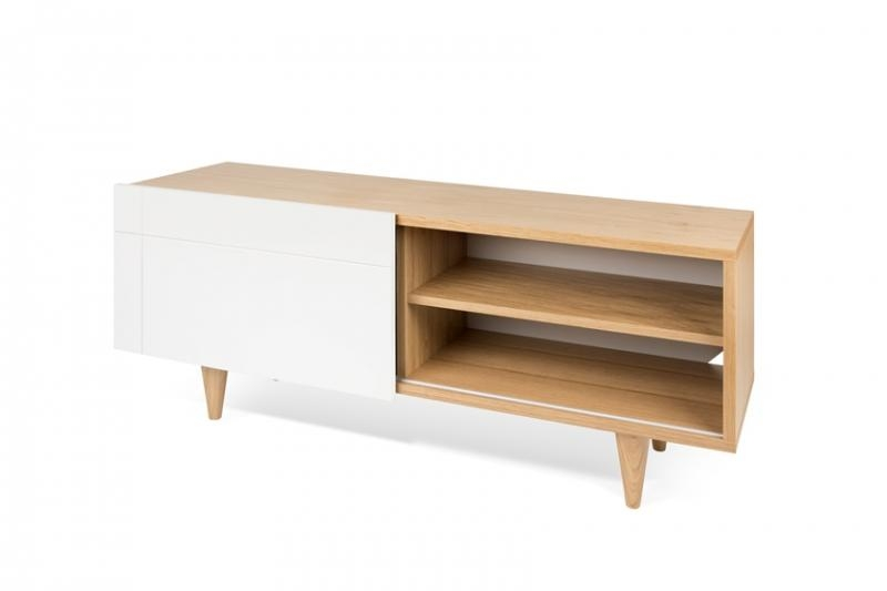 Amazing Best Oak Veneer TV Stands Throughout Temahome Cruz Tv Unit Contemporary Furniture Modern Living (View 19 of 50)