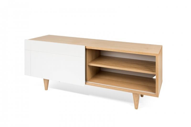 Amazing Best Oak Veneer TV Stands Throughout Temahome Cruz Tv Unit Contemporary Furniture Modern Living (Image 1 of 50)