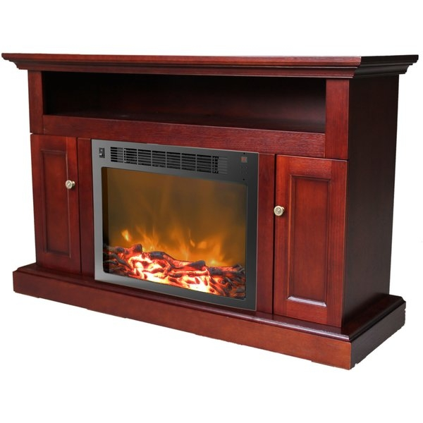 Amazing Best Red TV Stands With Cambridge Sorrento 47 Tv Stand With Electric Fireplace Wayfair (Image 1 of 50)