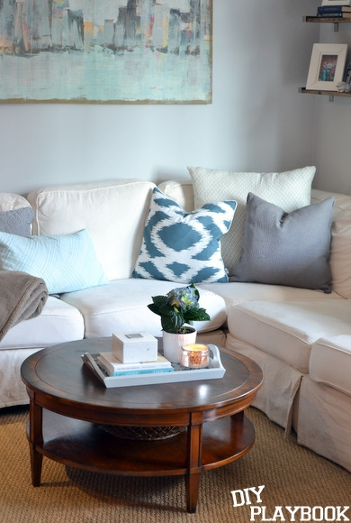 Amazing Best Round Coffee Table Trays Within 5 Tips To Style Your Coffee Table (Image 1 of 50)