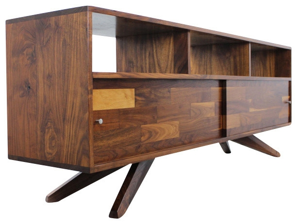 Amazing Best Sideboard TV Stands Inside Divisadero Mediarecord Console Sideboard Midcentury (View 34 of 50)