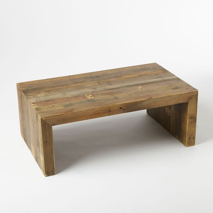 Amazing Best Small Wood Coffee Tables For Emmerson Reclaimed Wood Coffee Table West Elm (Image 1 of 50)
