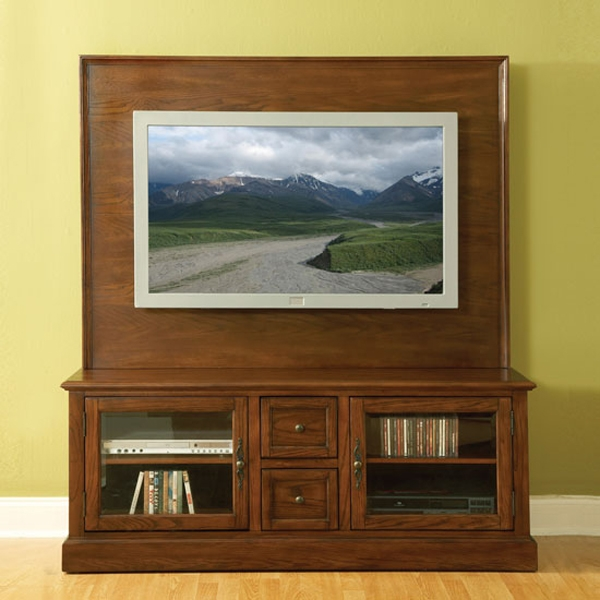 Amazing Best TV Stands With Back Panel Pertaining To Grangeville Tv Stand With Back Panel Tv Stands (Image 1 of 50)
