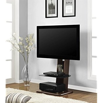 Amazing Best Walnut TV Stands For Flat Screens In Amazon Cordoba Tv Stand With Mount 32 To 52 Cell Phones (Image 1 of 50)