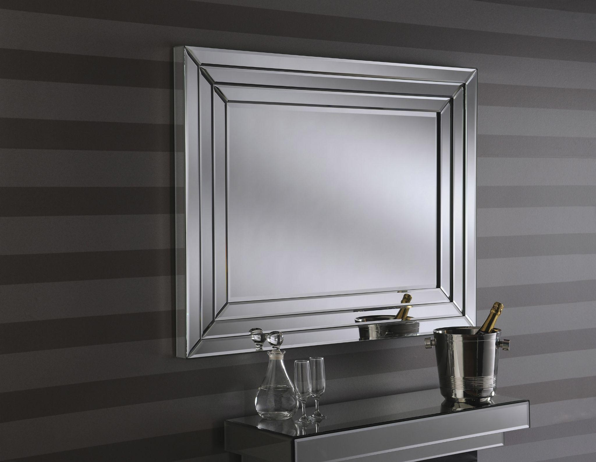 Amazing Bevelled Drilled Bathroom Mirrors 90 For Your With Intended For Bevelled Mirrors (Image 4 of 20)