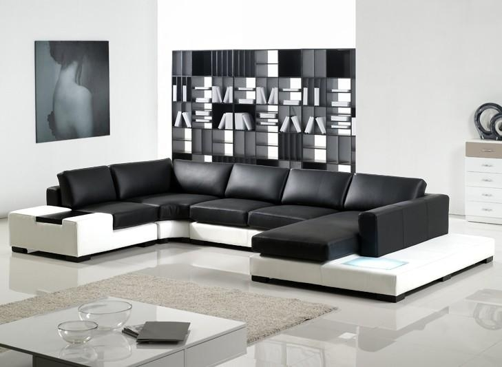 Amazing Black Modern Couches Madison Home Usa Mid Century Modern With Regard To Black Modern Couches (Image 2 of 20)