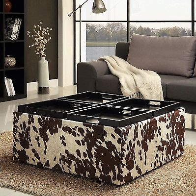 Featured Image of Animal Print Ottoman Coffee Tables
