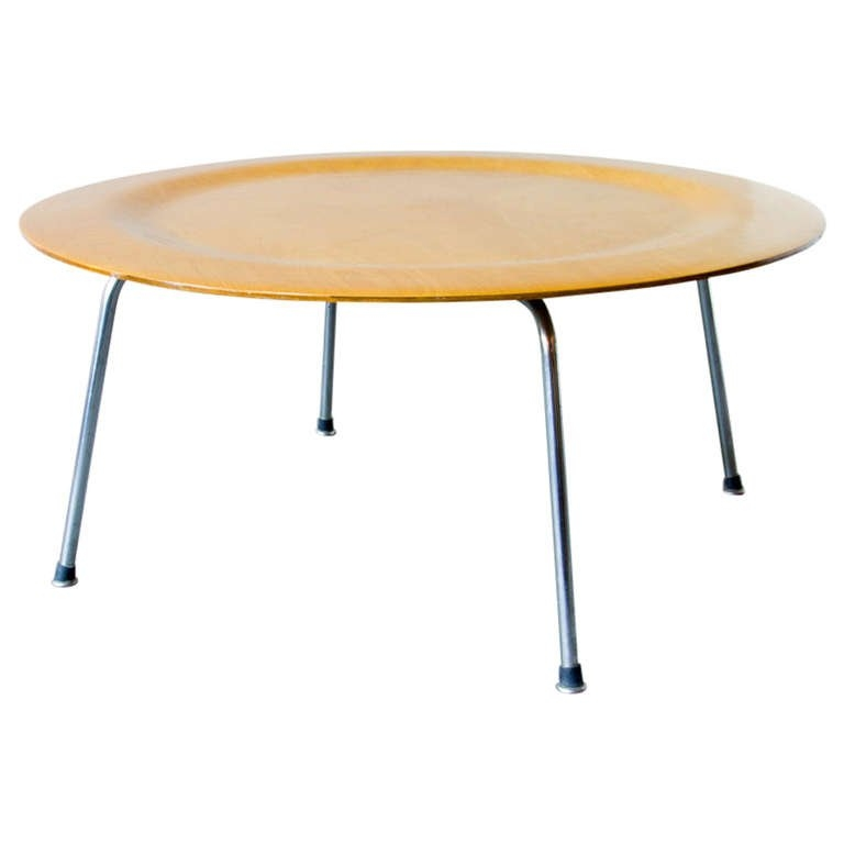 Amazing Brand New Birch Coffee Tables In Eames Ctm Birch Coffee Table At 1stdibs (Image 1 of 50)