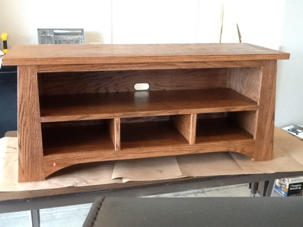 Amazing Brand New Hardwood TV Stands For Oak Tv Stand From The Family Handyman Woodworking Talk (Image 1 of 50)