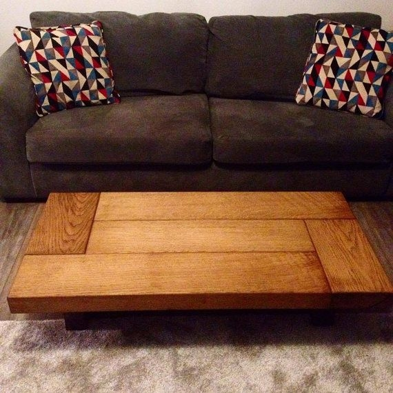 Amazing Brand New Large Low Oak Coffee Tables With Regard To Best 25 Dark Wood Coffee Table Ideas On Pinterest Diy Coffee (Image 1 of 50)