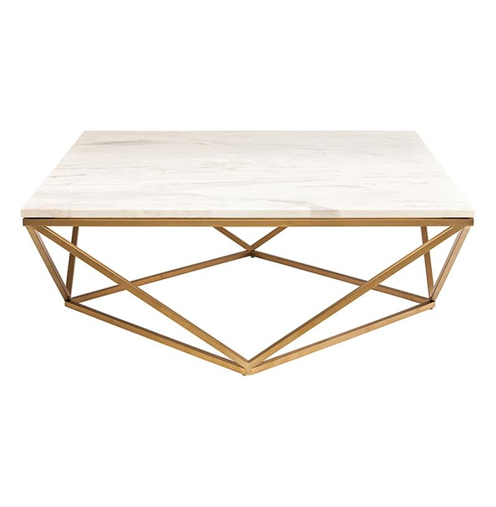 Amazing Brand New Marble And Metal Coffee Tables Within Marble Coffee Table (Image 1 of 40)
