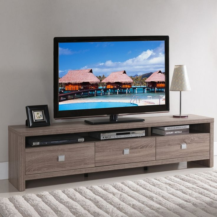 Amazing Brand New Modern Wooden TV Stands Intended For Best 25 Contemporary Tv Stands Ideas On Pinterest Contemporary (Image 2 of 50)