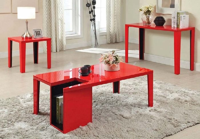 Amazing Brand New Red Coffee Table Inside 30 Red Coffee Tables For Good Mood Coffee Table Review (Image 1 of 50)