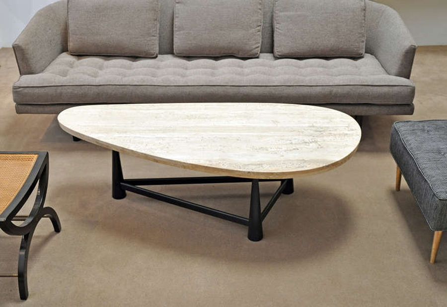 Amazing Brand New Round Slate Top Coffee Tables With Regard To Stone Coffee Table (Image 1 of 40)