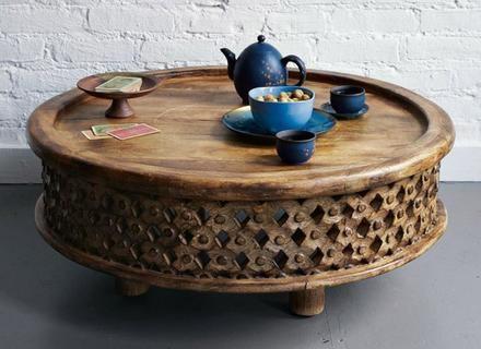 Amazing Brand New Round Storage Coffee Tables Inside Coffee Table Round Coffee Table Design 2016 Round Coffee Table (View 14 of 50)