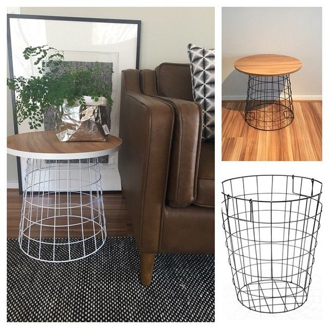 Amazing Brand New White Coffee Tables With Baskets Throughout Best 25 White Side Tables Ideas That You Will Like On Pinterest (Image 2 of 40)