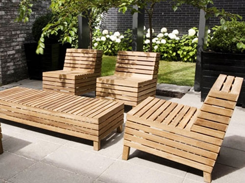 Amazing Brand New Wooden Garden Coffee Tables In Woodern Garden Furniture In Teak Wood Material With Large Coffee (Image 1 of 50)
