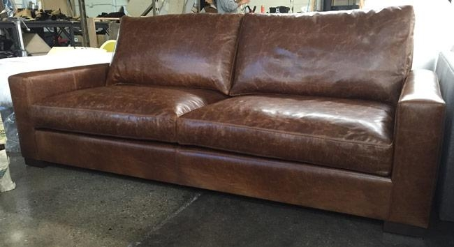 Amazing Brompton Leather Sofa Restoration Hardware Leather Sofa Regarding Brompton Leather Sofas (View 5 of 20)
