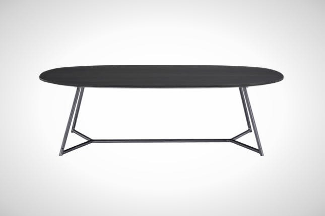 Amazing Common Glass And Black Metal Coffee Table Within The 50 Most Beautiful Coffee Tables Ever Brit Co (Image 1 of 50)
