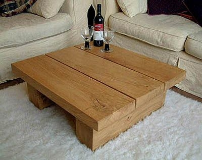 Amazing Common Oak Coffee Table Sets Regarding Square Medium Solid Oak Coffee Table Tables Pinterest Oak (Image 1 of 50)