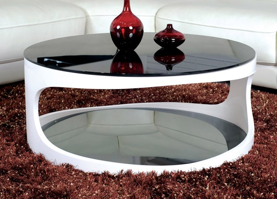 Amazing Common Round Coffee Tables With Storages Within Inspiring Modern Coffee Table With Storage Coffee Table All Modern (Image 1 of 50)