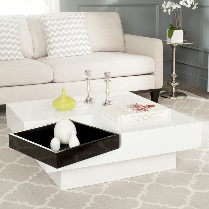 Amazing Common Safavieh Coffee Tables With Safavieh Wesley Coffee Table Reviews Wayfair (Image 2 of 50)