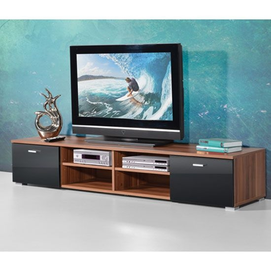 Amazing Common Walnut TV Stands For Flat Screens With 38 Best Tv Stands Images On Pinterest High Gloss Tv Stands And (Image 2 of 50)