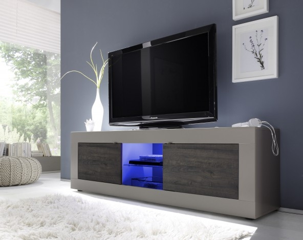Amazing Common Wenge TV Cabinets With Regard To Basic Big Tv Stand Beige Wenge Buy Online At Best Price Sohomod (Image 1 of 50)