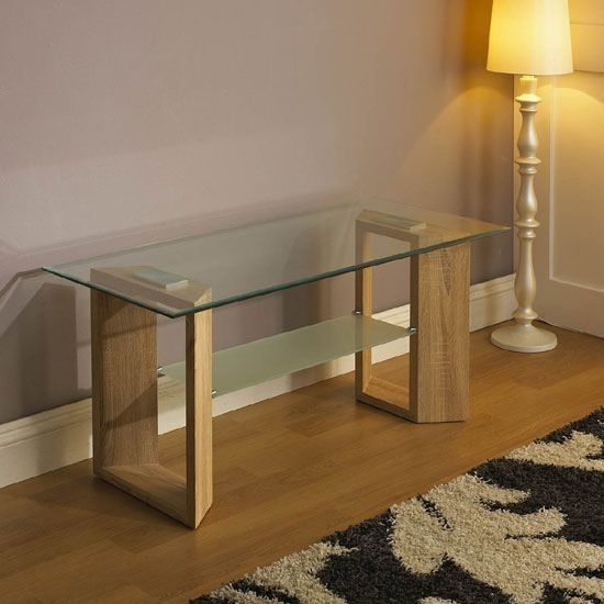 Amazing Common Wood TV Stands With Glass Top Intended For 10 Best Console Tables Images On Pinterest Consoles Console (Image 2 of 50)