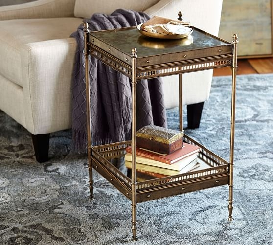 Amazing Deluxe Antique Glass Pottery Barn Coffee Tables Within Pottery Barn Coffee Tables Side Tables Sale Up To 30 For A (View 1 of 50)