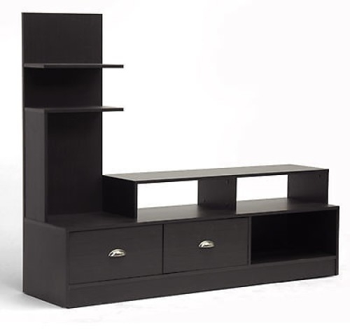 Amazing Deluxe Bjs TV Stands Pertaining To Baxton Studio Armstrong Tv Stand Espresso Bjs Fireplace Tv Stand (Image 1 of 50)