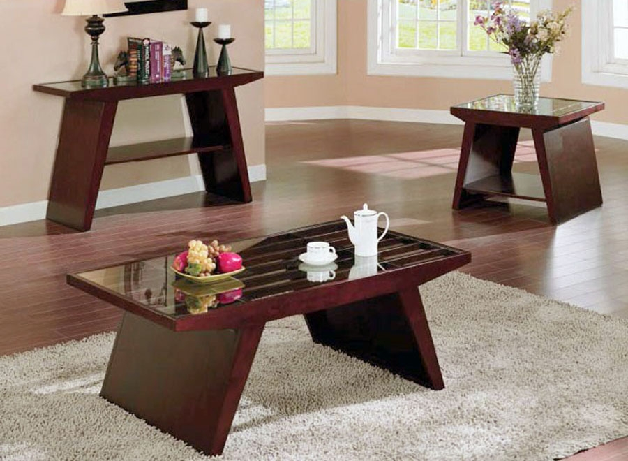 Amazing Deluxe Coffee Table With Matching End Tables With Perfect End Table Coffee Table Set (Image 2 of 50)