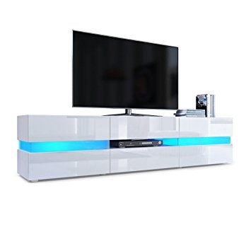Amazing Deluxe High Gloss TV Cabinets For Tv Unit Cabinet Flow Carcass In White Matt Front In White High (View 21 of 50)