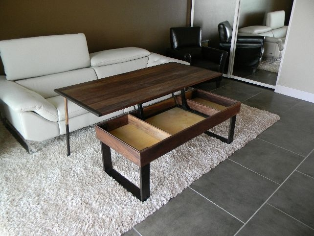 Amazing Deluxe Lift Coffee Tables Intended For Coffee Table That Lifts (View 33 of 50)