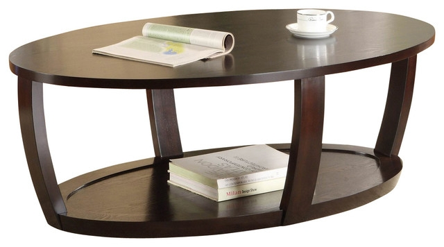 Amazing Deluxe Oval Wood Coffee Tables With Regard To Oval Wood Coffee Table (Image 1 of 50)