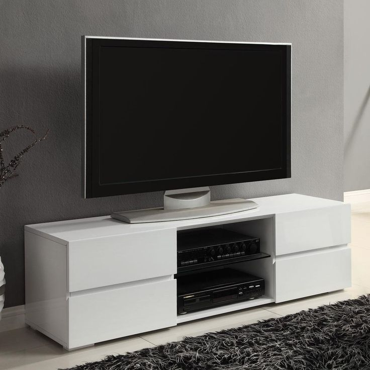 Amazing Deluxe Ovid TV Stands Black For 85 Best Tv Stands Images On Pinterest Tv Stands Entertainment (Image 1 of 50)