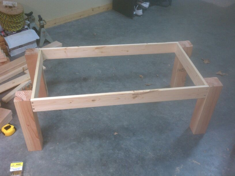 Amazing Deluxe Pine Coffee Tables Pertaining To Ana White Pine Coffee Table Success Diy Projects (View 49 of 50)