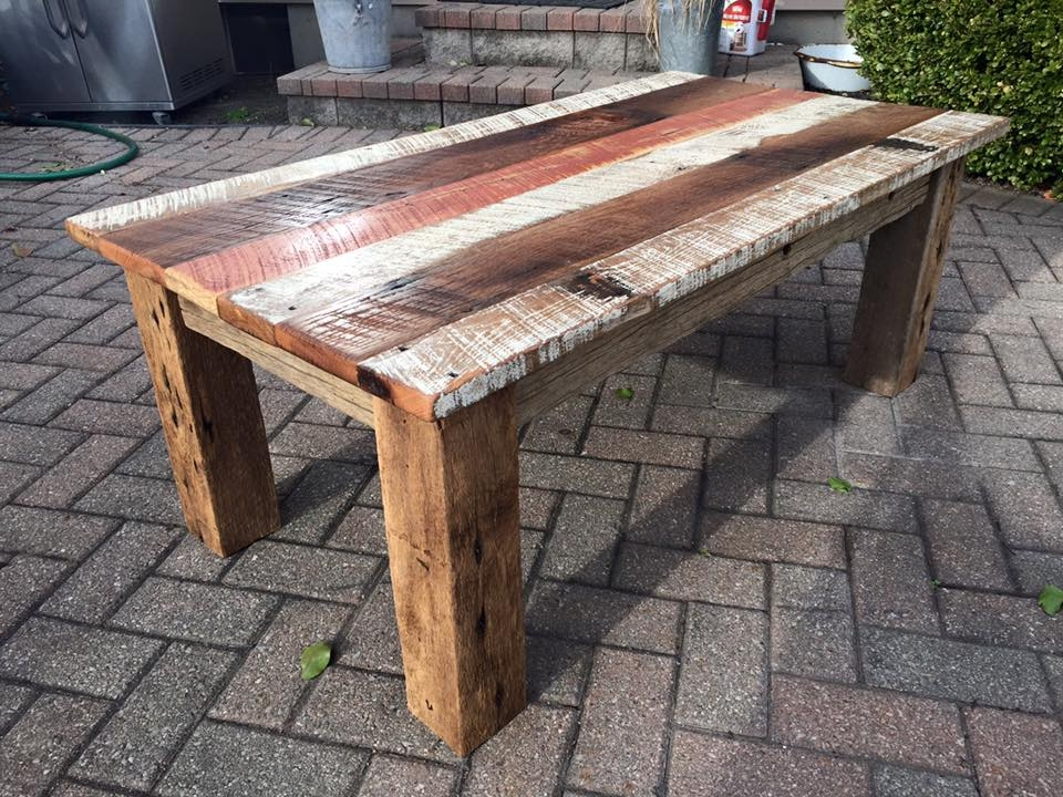 Amazing Deluxe Rustic Barnwood Coffee Tables Intended For Lovable Rustic Barnwood Coffee Table Diy Reclaimed Barn Wood (View 15 of 50)