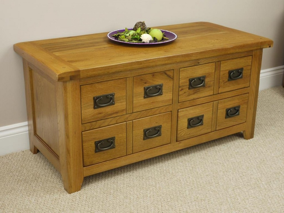 Amazing Deluxe Rustic Storage DIY Coffee Tables In Diy Rustic Storage Coffee Table Charming And Homely Rustic (Image 1 of 50)