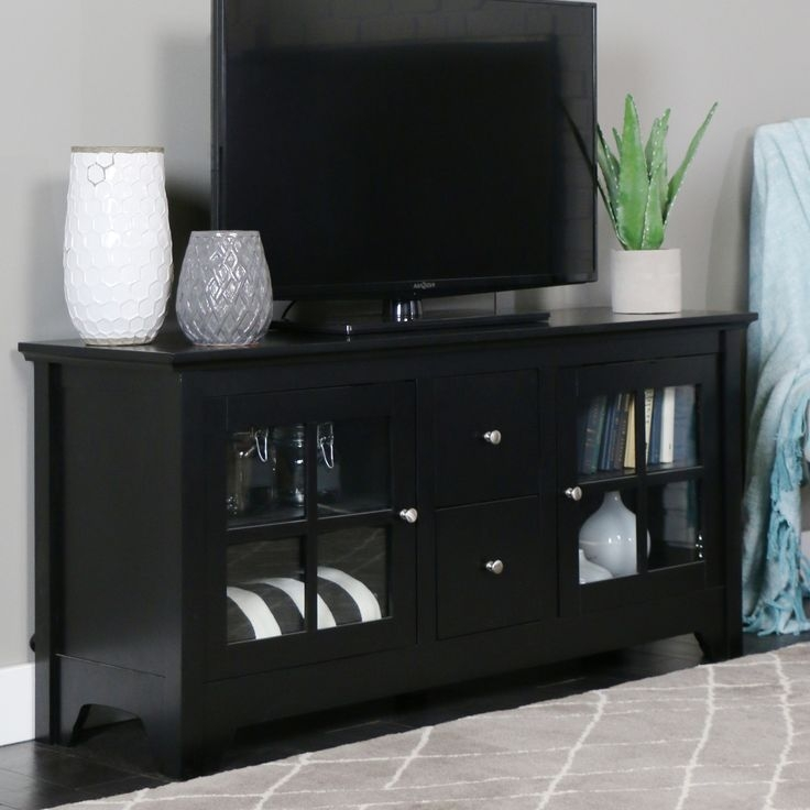 Amazing Deluxe Solid Wood Black TV Stands Regarding The 25 Best Solid Wood Tv Stand Ideas On Pinterest Reclaimed (Image 1 of 50)
