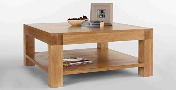 Amazing Deluxe Square Oak Coffee Tables Throughout 20 Amazing Square Oak Coffee Tables Home Design Lover (Image 2 of 50)