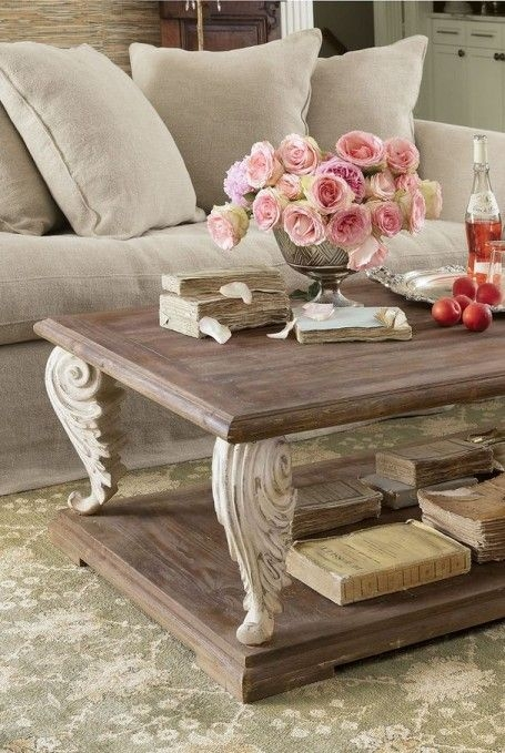 Amazing Deluxe White French Coffee Tables With Regard To Best 25 French Country Coffee Table Ideas Only On Pinterest (Image 1 of 50)