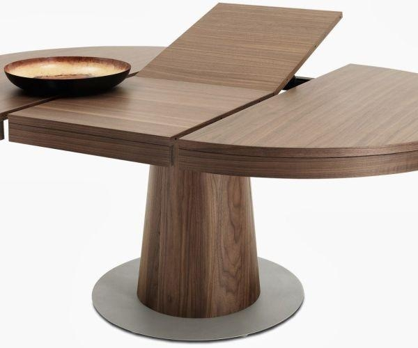Amazing Design Extendable Round Dining Table Classy Idea Archer Throughout Round Extending Dining Tables (View 15 of 20)