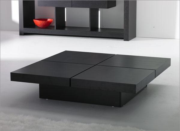 Amazing Elite Black Wood Coffee Tables Regarding Minimalist Coffee Table (Image 1 of 40)