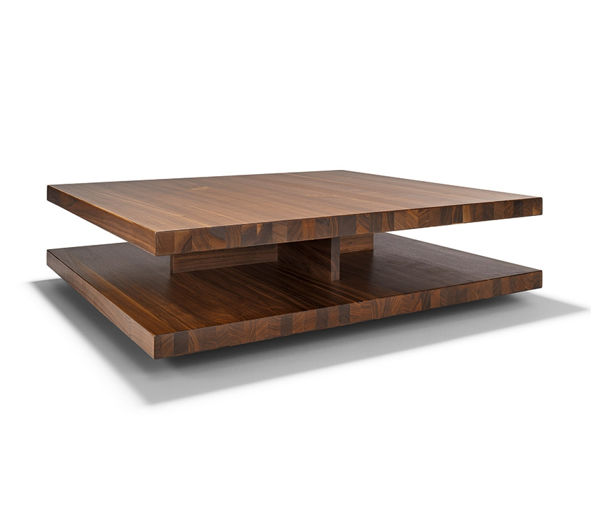 Amazing Elite Dark Wood Square Coffee Tables Throughout Dark Wood Coffee Table Julian Bowen Santiago Coffee Table Dark (Image 2 of 50)