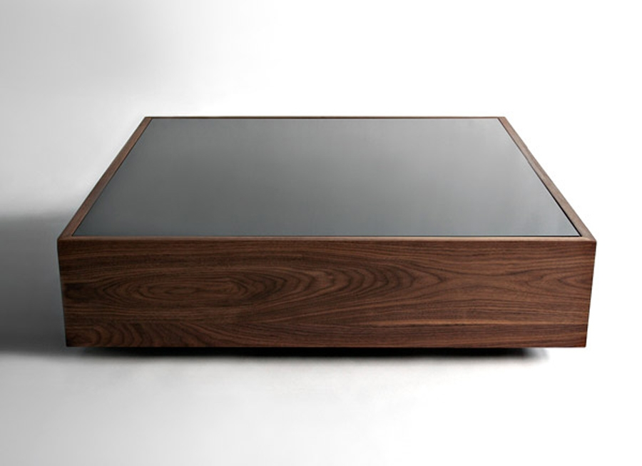 Amazing Elite Dark Wood Square Coffee Tables Within Coffee Table Glamorous Coffee Table Square In Your Living Room (Image 3 of 50)