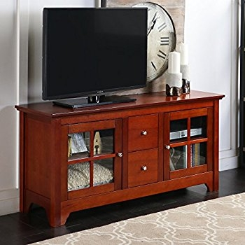Amazing Elite Hardwood TV Stands Inside Amazon Better Homes And Gardens Oxford Square Tv Stand And (Image 2 of 50)